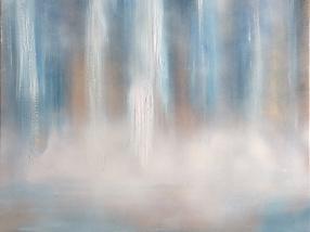 абстрактен-водопад