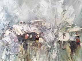 селото-на-хълма